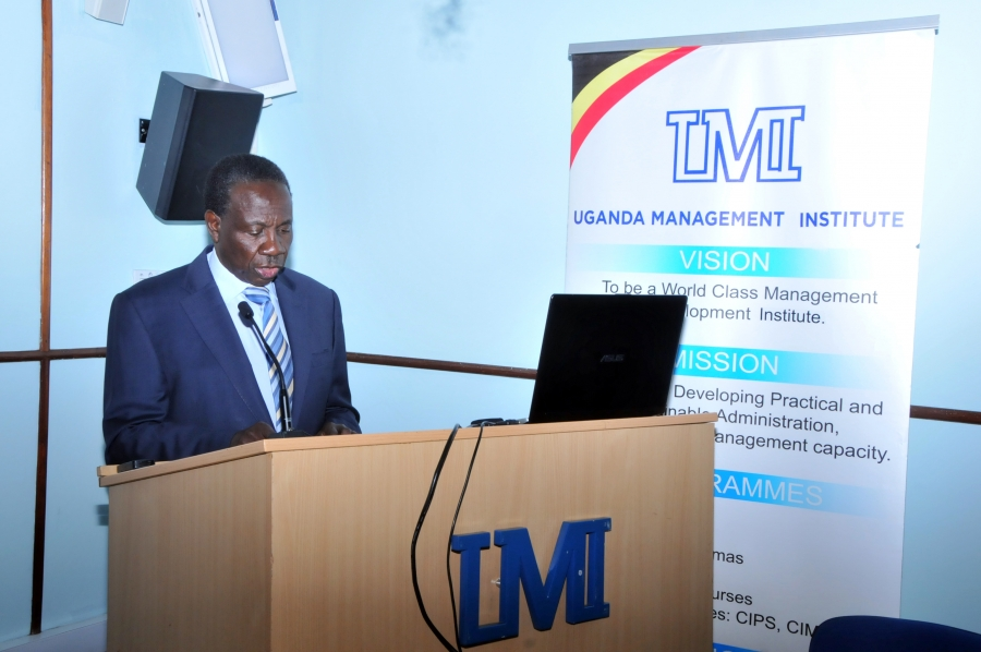 Finance Minister Matia Kasaija calls on UMI for solutions to ailing Economy