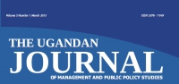 The Uganda Journal of Management and Public Policy Studies